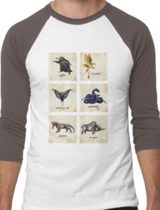 Fantastical Creatures Men's Baseball ¾ T-Shirt