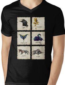 Fantastical Creatures Mens V-Neck T-Shirt