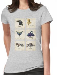 Fantastical Creatures Womens Fitted T-Shirt