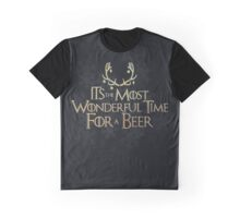 Wonderful Time for a Beer Graphic T-Shirt