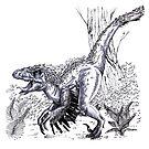 Velociraptor by Verónica Casas