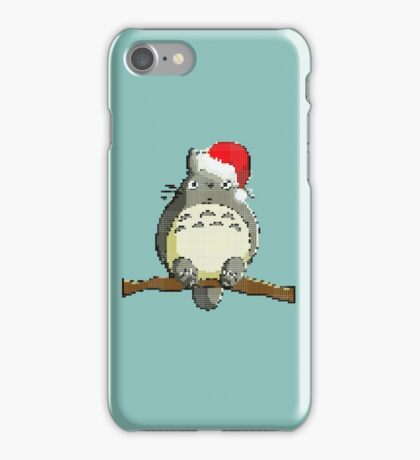 Christmas Totoro iPhone Case/Skin