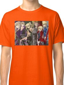 Fate Stay / Night Saber Lily  Classic T-Shirt