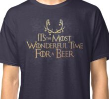 Most Wonderful Time for a Beer Classic T-Shirt