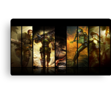 League of Legends Commando Skins Canvas Print