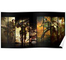 League of Legends Commando Skins Poster