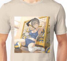 Sporty Dodgeball Anime Girl Unisex T-Shirt