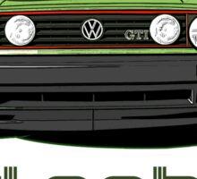 Old School Golf GTI  Sticker