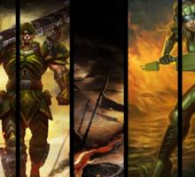 League of Legends Commando Skins Sticker