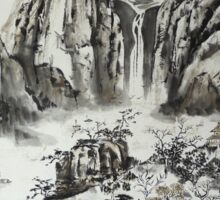 Yangze River with Water Fall Sticker