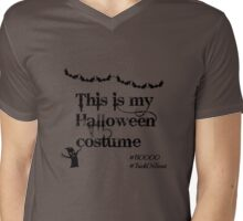 This is my Halloween costume.  Mens V-Neck T-Shirt