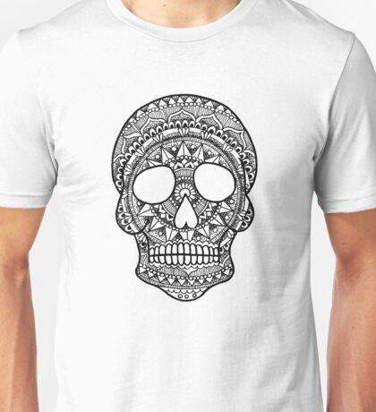 Mandala Skull Unisex T-Shirt