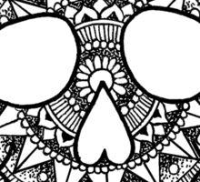 Mandala Skull Sticker