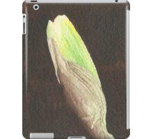 Daffodil Flower Bud iPad Case/Skin