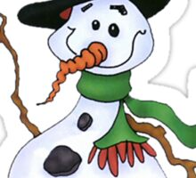 Cute Snowman Sticker