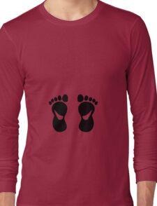 foot feet podologue podiatrist baby Long Sleeve T-Shirt