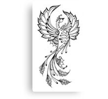 phoenix henna Canvas Print