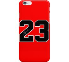 #23 MJ iPhone Case/Skin