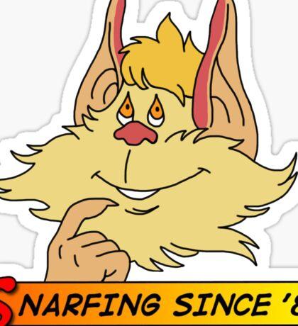 Snarfing since '87 (Thundercats Snarf) Sticker