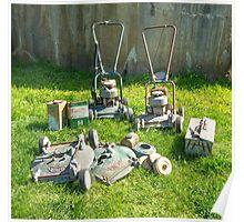 Mower Maintenance... Poster