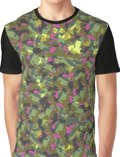 Camouflage woman Graphic T-Shirt