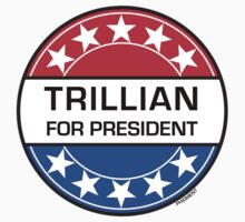 TRILLIAN FOR PRESIDENT One Piece - Long Sleeve