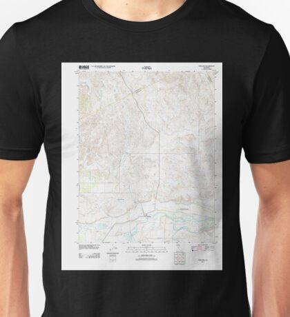USGS TOPO Map California CA Snelling 20120427 TM geo Unisex T-Shirt
