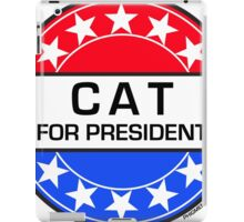 CAT FOR PRESIDENT iPad Case/Skin