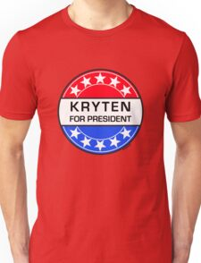 KRYTEN FOR PRESIDENT Unisex T-Shirt