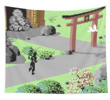 The Last Ninja Scenery Wall Tapestry