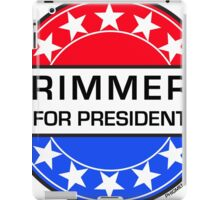 RIMMER FOR PRESIDENT iPad Case/Skin