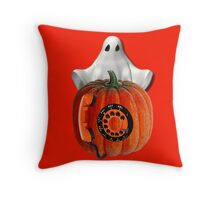 WHO U GONNA CALL??..GHOST BUSTERS..I AIN'T AFRAID OF NO GHOST..THROW PILLOW AND TOTE BAG Throw Pillow