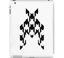 Houndstooth Clear iPad Case/Skin