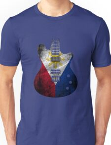 Guitar Flag Philippines Dewrty Unisex T-Shirt