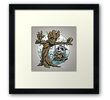 I Am Swing! Framed Print