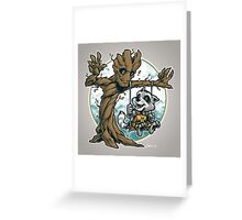 I Am Swing! Greeting Card