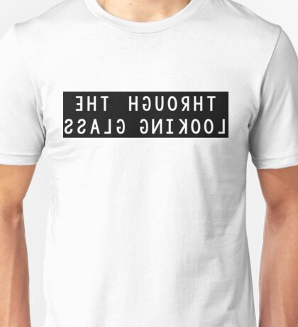 Through the Looking Glass Mirror Image Unisex T-Shirt