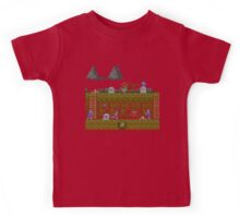 Ghosts and Goblins Scenery Kids Tee