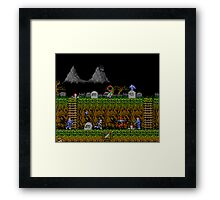 Ghosts and Goblins Scenery Framed Print