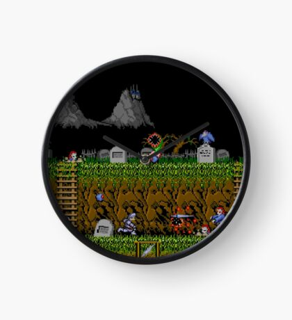 Ghosts and Goblins Scenery Clock