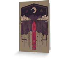 The Lost Obelisk Greeting Card