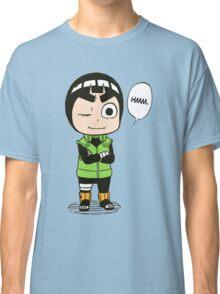 rock lee naruto Classic T-Shirt