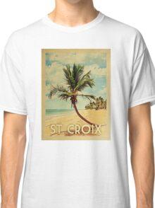 St. Croix Vintage Travel T-shirt - Beach Classic T-Shirt