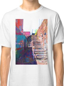 Stairs of Saturation Classic T-Shirt