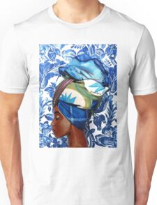 The lady in turban Unisex T-Shirt