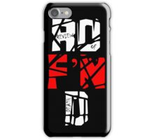 'The Review of Death' Extreme Logo iPhone Case/Skin
