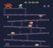 Donkey Kong Atari 2600 Gameplay  Kids Tee
