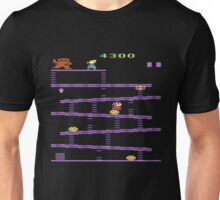 Donkey Kong Atari 2600 Gameplay  Unisex T-Shirt
