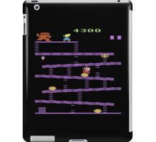 Donkey Kong Atari 2600 Gameplay  iPad Case/Skin