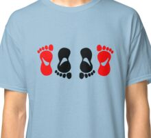 feet making love amour Classic T-Shirt